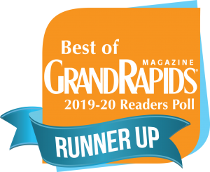 Best of Grand Rapids Runner Up logo