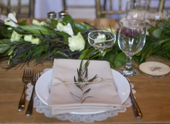 Wedding Table Setting South Haven Creations